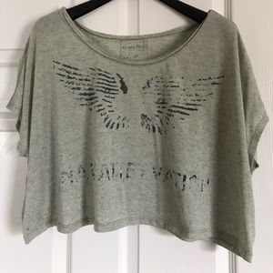 Free People We the Free Crop Top sx xsmall